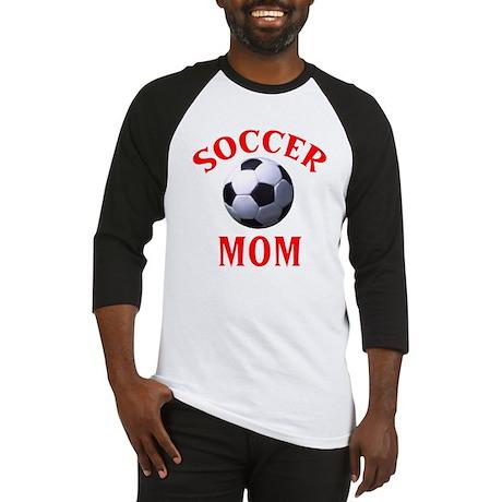 """Soccer Mom"" Baseball Jersey"