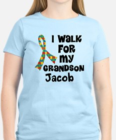 Autism Grandson Personalized T-Shirt