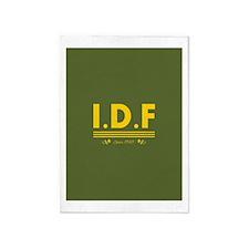 IDF Since 1948 5'x7'Area Rug