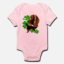 Irish Setter Wag your tail if you Infant Bodysuit