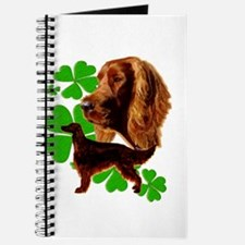 Irish Setter Wag your tail if you feel hap Journal