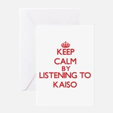 Keep calm by listening to KAISO Greeting Cards