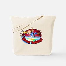 Cute Comic book art Tote Bag