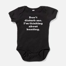 Thinking About Hunting Baby Bodysuit