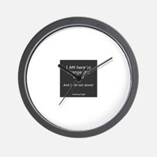 Unique People who changed world Wall Clock