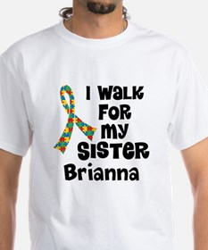 Autism Sister Personalized T-Shirt