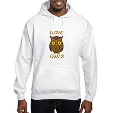 I Love Owls Hoodie
