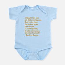 Chaucer's Knight Infant Bodysuit