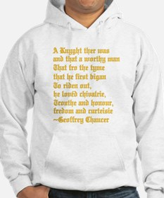 Chaucer's Knight Hoodie