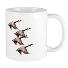Canada Geese Flying Mug