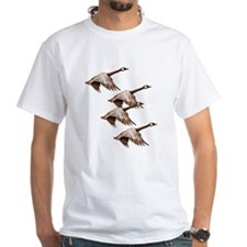 Canada Geese Flying Shirt