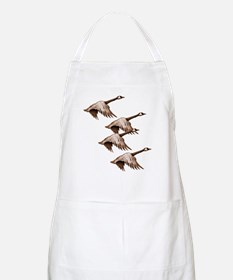 Canada Geese Flying BBQ Apron