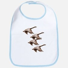 Canada Geese Flying Bib