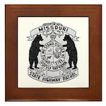 Missouri Highway Patrol Framed Tile