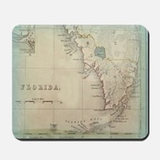 Florida Keys Antique Map Mousepad