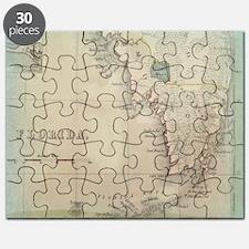 Florida Keys Antique Map Puzzle