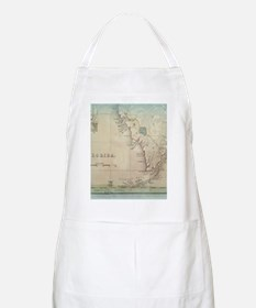 Florida Keys Antique Map Apron