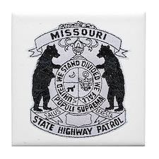 Missouri Highway Patrol Tile Coaster