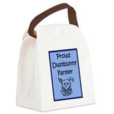 Proud Dustbunny Farmer Canvas Lunch Bag