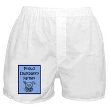 Proud Dustbunny Farmer Boxer Shorts