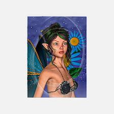 Fairy Butterfly 5'x7'Area Rug