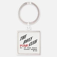 The Roxy Punk Club Square Keychain Keychains