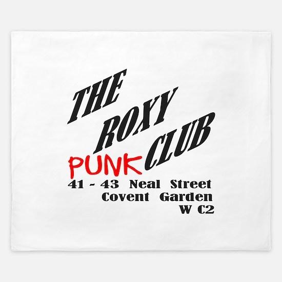 The Roxy Punk Club King Duvet
