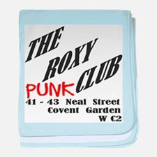 The Roxy Punk Club baby blanket