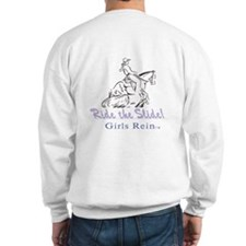 G.R. on front / Ride the Slide on back sweatshirt