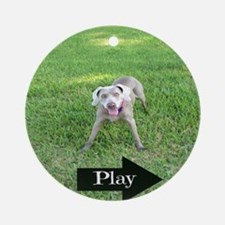 Play Round Ornament
