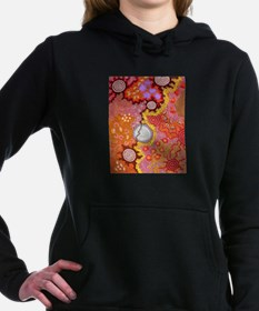 AUSTRALIAN ABORIGINAL ART 2 Women's Hooded Sweatsh