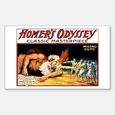 'homer's Odyssey 1911 Sticker (rectangle)