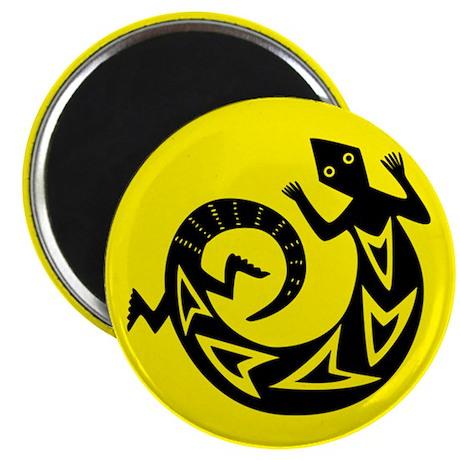 Lizard Pictograph Magnet