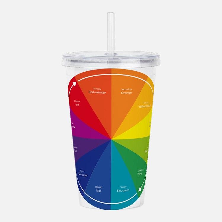 The Color Wheel Acrylic Double-wall Tumbler