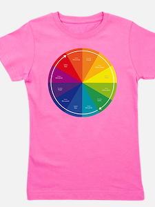 The Color Wheel Girl's Tee