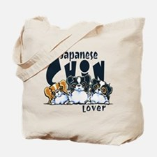 Japanese Chin Lover Tote Bag