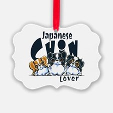 Japanese Chin Lover Ornament