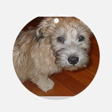 Glen_of_Imaal_Terrier wheaton Ornament (Round)