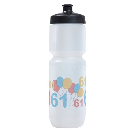 61 years old - 61st Birthday Sports Bottle