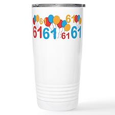 61 years old - 61st Birthday Travel Mug