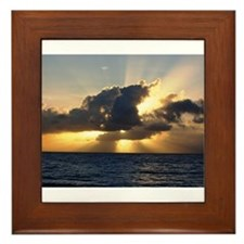 Cute Pompano beach Framed Tile