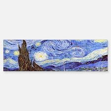 Van Gog The Starry NIght Tassel S Bumper Bumper Sticker