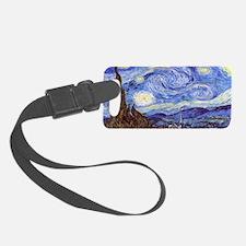Van Gog The Starry NIght Tassel  Luggage Tag