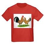 Mille Fleur Dutch Bantams Kids Dark T-Shirt