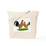 Mille Fleur Dutch Bantams Tote Bag