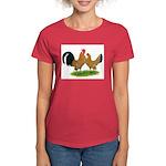 Mille Fleur Dutch Bantams Women's Dark T-Shirt