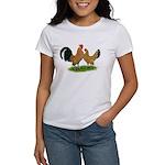 Mille Fleur Dutch Bantams Women's T-Shirt