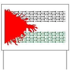 palestine Yard Sign