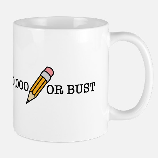 50,000 Or Bust Mugs
