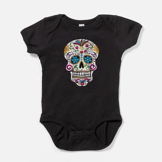 Cute Sugar day of the dead Baby Bodysuit